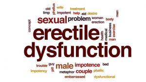 Erectile dysfunction problem, erection